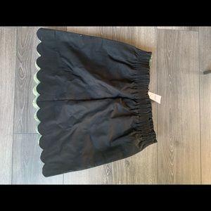 J crew black tulip skirt